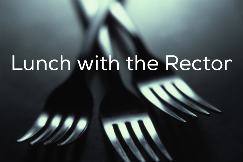 Lunch with the Rector