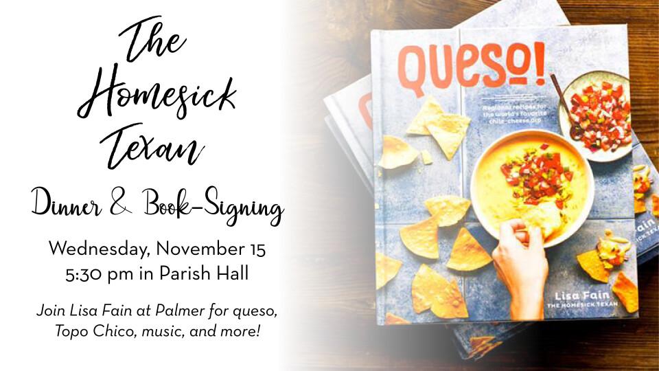Homesick Texan Dinner & Book-Signing